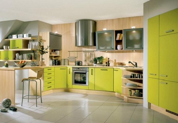 Grün Orange Super Coolen Küchen. Australien Küchen Design