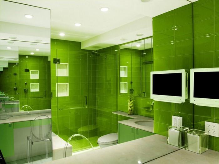 Schlafzimmer Inspiration Grun : Die Küche in Grün gestalten: das ...