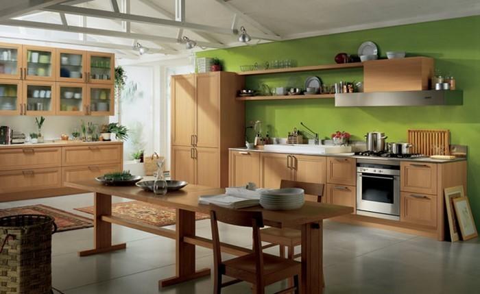 Küchen günstig in Grün: Ein verblüffendes Interieur