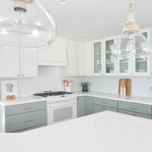 Die Küche in Weiß gestalten: 81 wunderschöne Ideen
