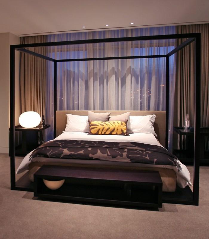 akzentbeleuchtungschlafzimmer-rundenachtlampe-miniledlichtimschlafzimmer