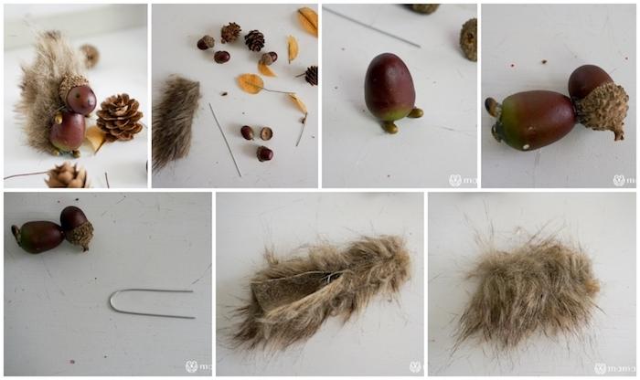 anleitung diy schritt für schritt eichhörnchen basteln mit haselnüssen originelle bastelideen für kinder und erwachsene
