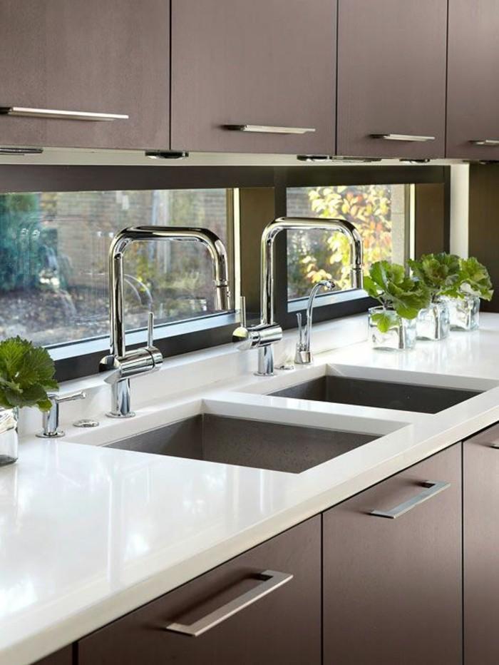 Dunkle Küche weise arbeitsplatten in der kuche design