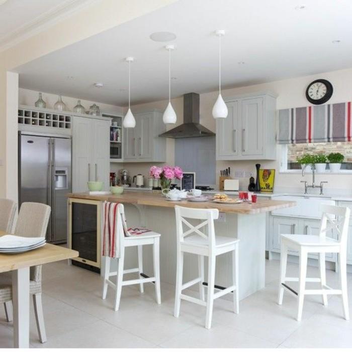 arbeitsplatten für küchen in beige gestalten