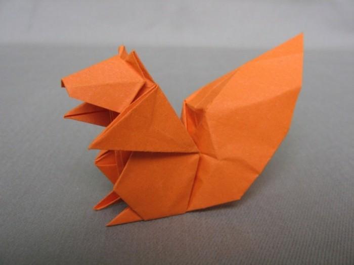 bastelideen-fur-kinder-orange-origami