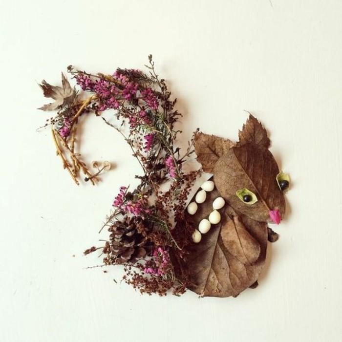 Wie die kinder eichh rnchen basteln ber 40 kreative vorschl ge - Herbst bastelideen ...