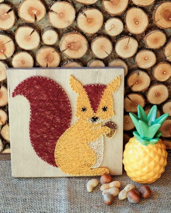 Sehr Wie die Kinder Eichhörnchen basteln: über 40 kreative Vorschläge ID78