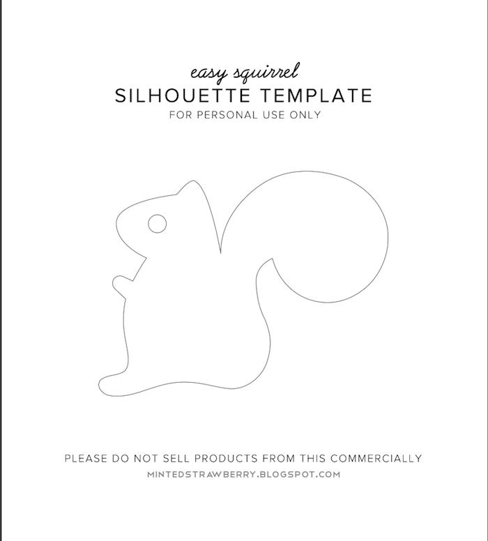 bastelvorlagen herbst zum ausdrucken kostenlos eichhörnchen basteln brosche mit diy anleitung schritt für schritt vorlagen basteln herbst