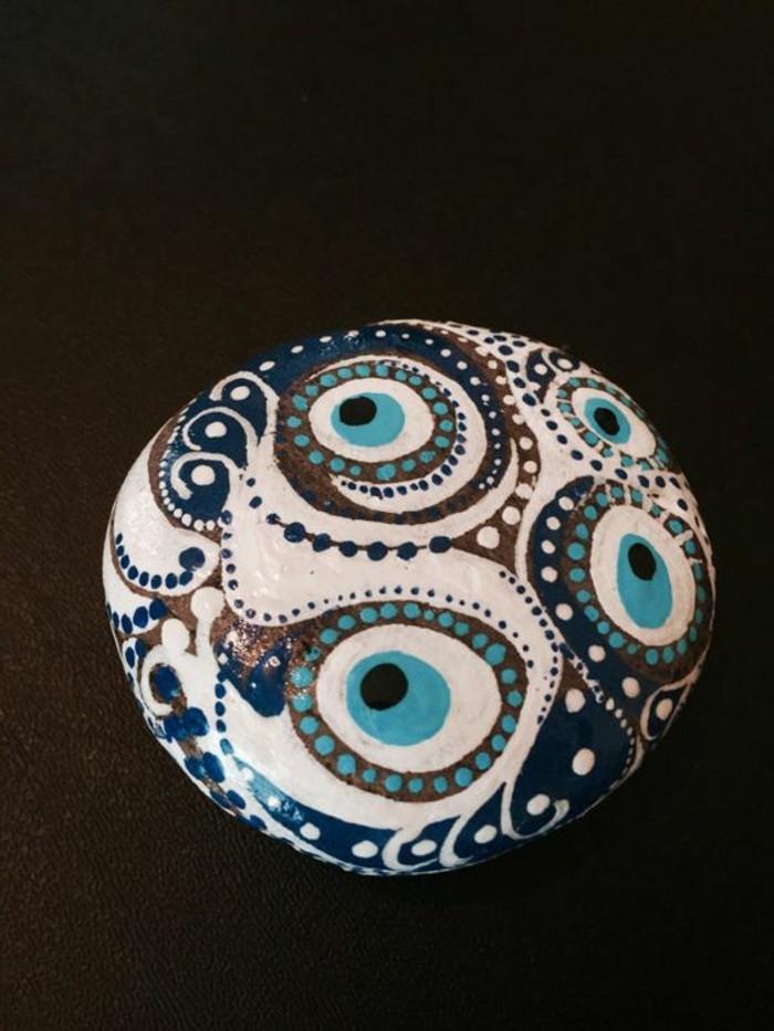 coole-bastelideen-steine-bemalen-mit-symbolen-von-gluck