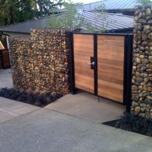 DIY Trockenmauer - Gabionen (Steinwand) selber bauen ohne Beton
