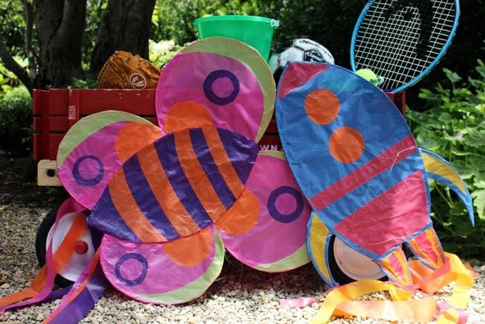 Drachen basteln ein lustiges erlebnis in 43 fotos for Drachen basteln im kindergarten