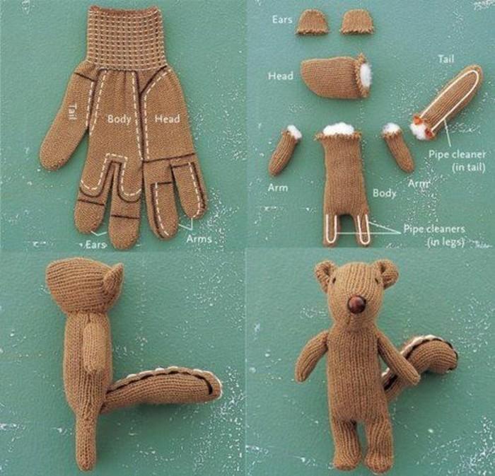 Wie Die Kinder Eichhörnchen Basteln über 40 Kreative Vorschläge