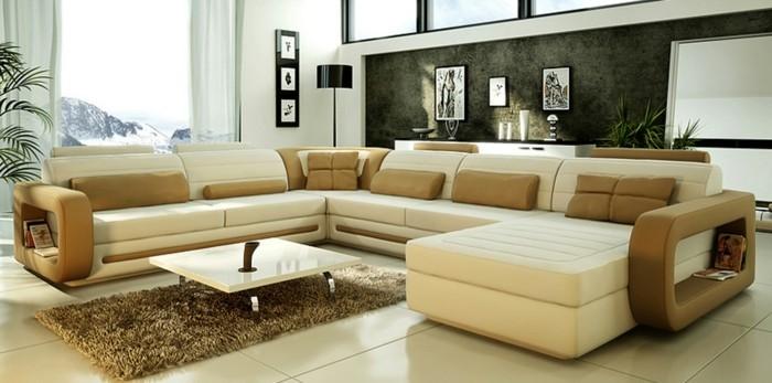 Eine Neue Wohnung Einrichten Helle Farben Im Zimmer  Faszinierendes  Wohnzimmer ...