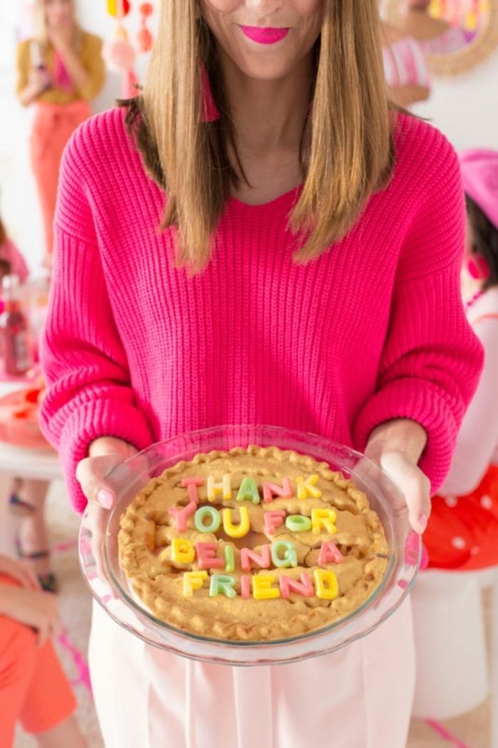 Kuchen mit Botschaft selber backen, Geschenke aus der Küche zu jedem Anlass