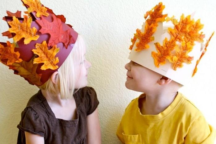 Basteln im herbst 40 ideen wie die natur ins hause for Kinder basteln herbst