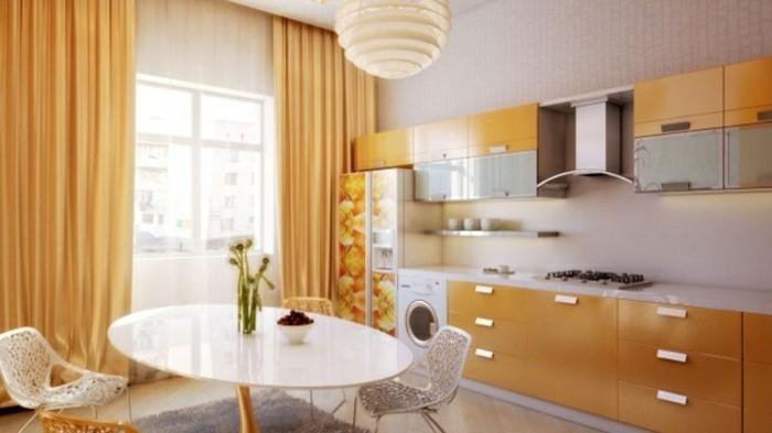 Küchengardinen Ideen und die aktuellsten Trends - Archzine.net
