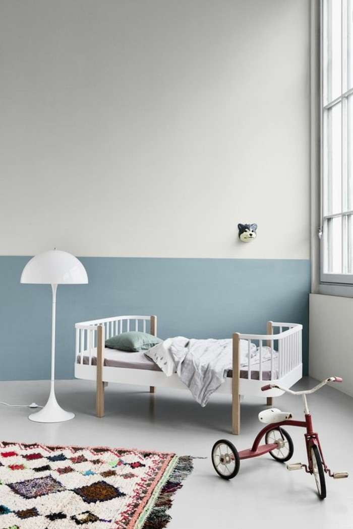 ideen baby und kinderzimmer wandfarbe. Black Bedroom Furniture Sets. Home Design Ideas