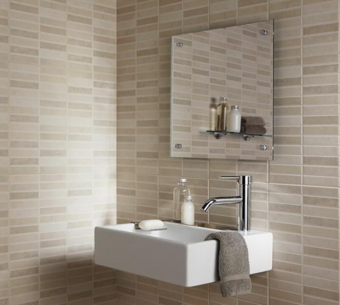 Kleine Fliesen Bad : Kleines Bad Fliesen - 58 praktische Ideen für Ihr Zuhause