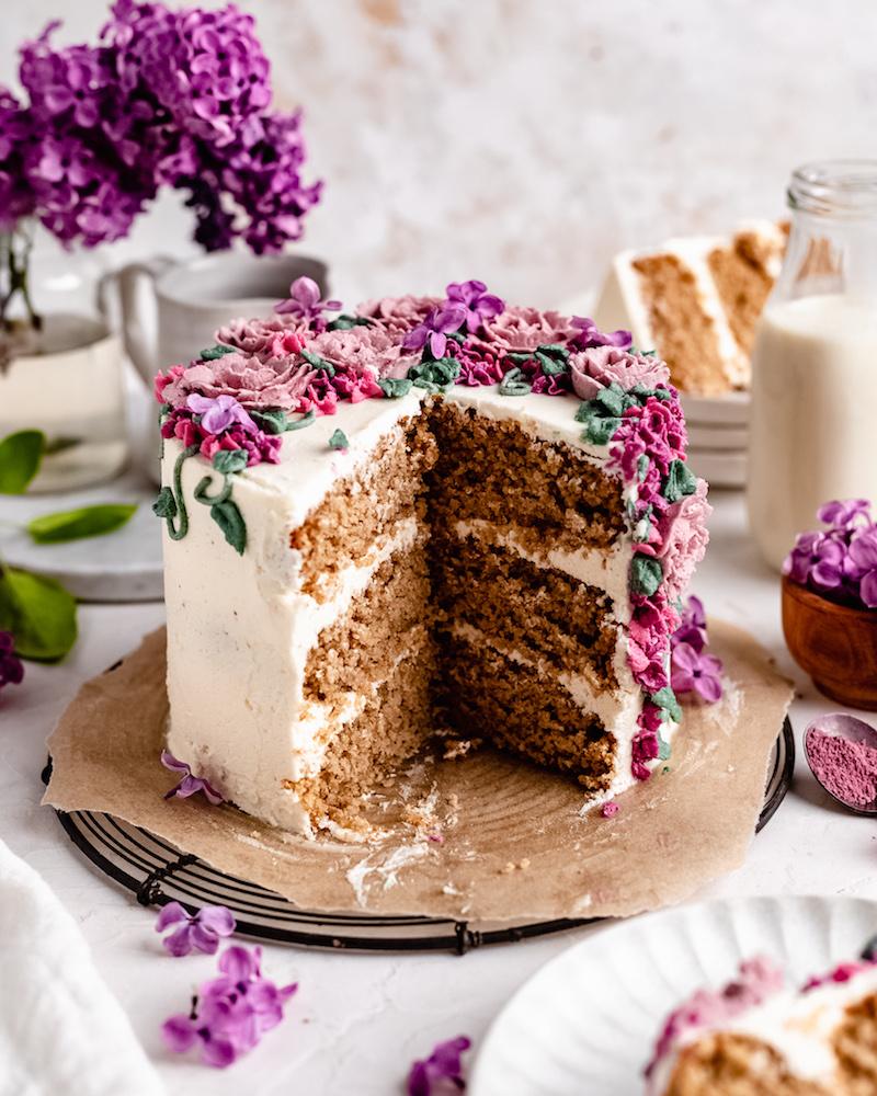 kreative dekoration torte glutenfreier kuchen rezept einfach