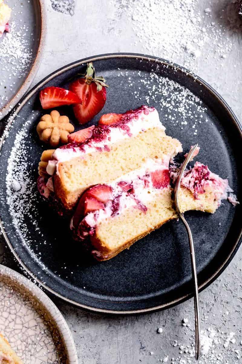leckere erdbeertorte glutenfreie torte zum geburtstag machen