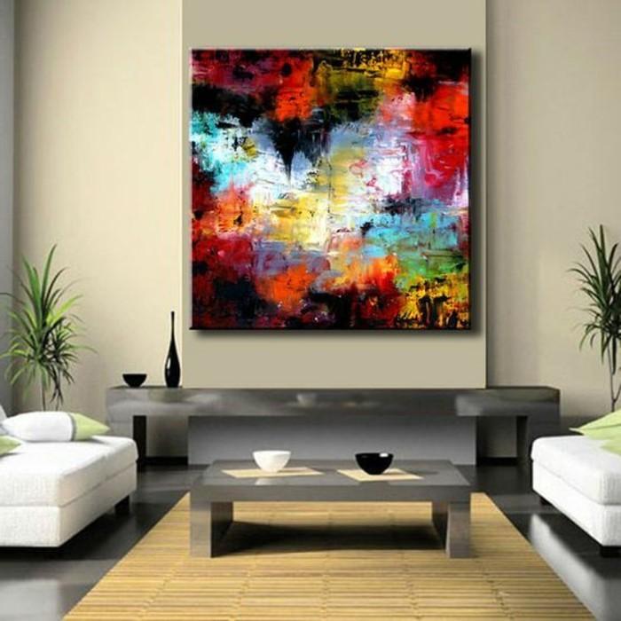 leinwandbilder-xxl-bequemes-wohnzimmer-weis-grau-pflanze-kleiner-tisch