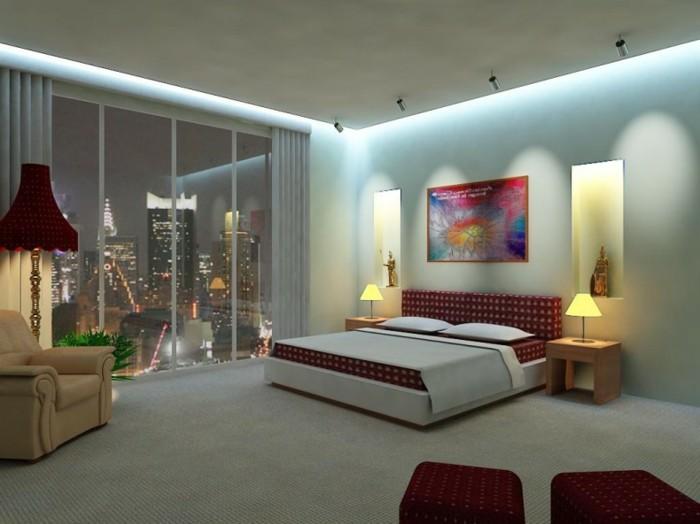 Das Licht im Schlafzimmer: 56 tolle Vorschläge dafür - Archzine.net