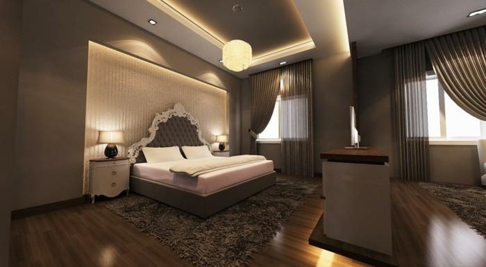 Schlafzimmer  Das Licht im Schlafzimmer: 56 tolle Vorschläge dafür - Archzine.net