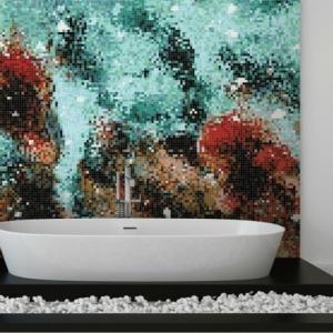 Mosaikfliesen verlegen - eine nicht so schwierige Aufgabe