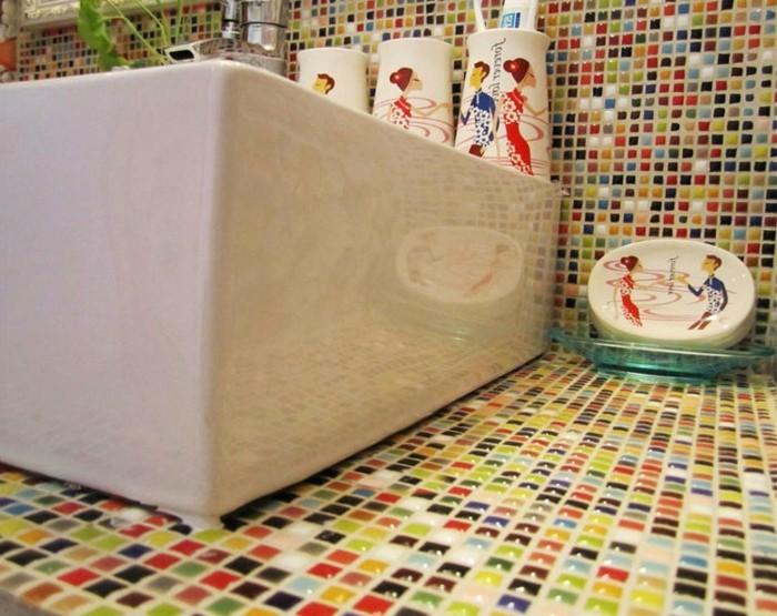 mosaikfliesen verlegen eine nicht so schwierige aufgabe. Black Bedroom Furniture Sets. Home Design Ideas