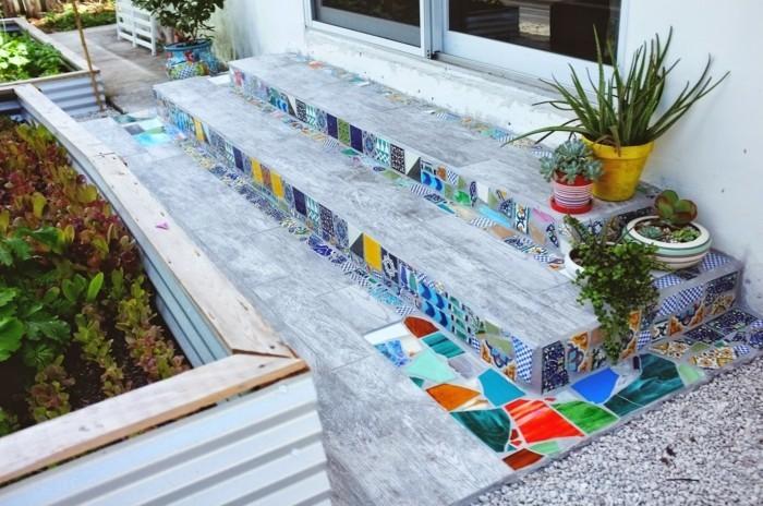 Mosaikfliesen Verlegen Eine Nicht So Schwierige Aufgabe Archzine Net