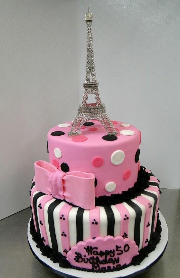 motivtorten-selber-machen-reise-nach-paris-rosa-torte