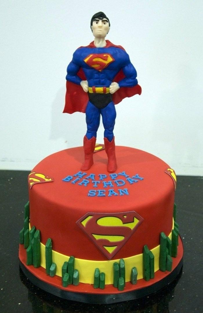 motivtorten-selber-machen-superman-motivtorte-selber-machen-geburtstag-junge