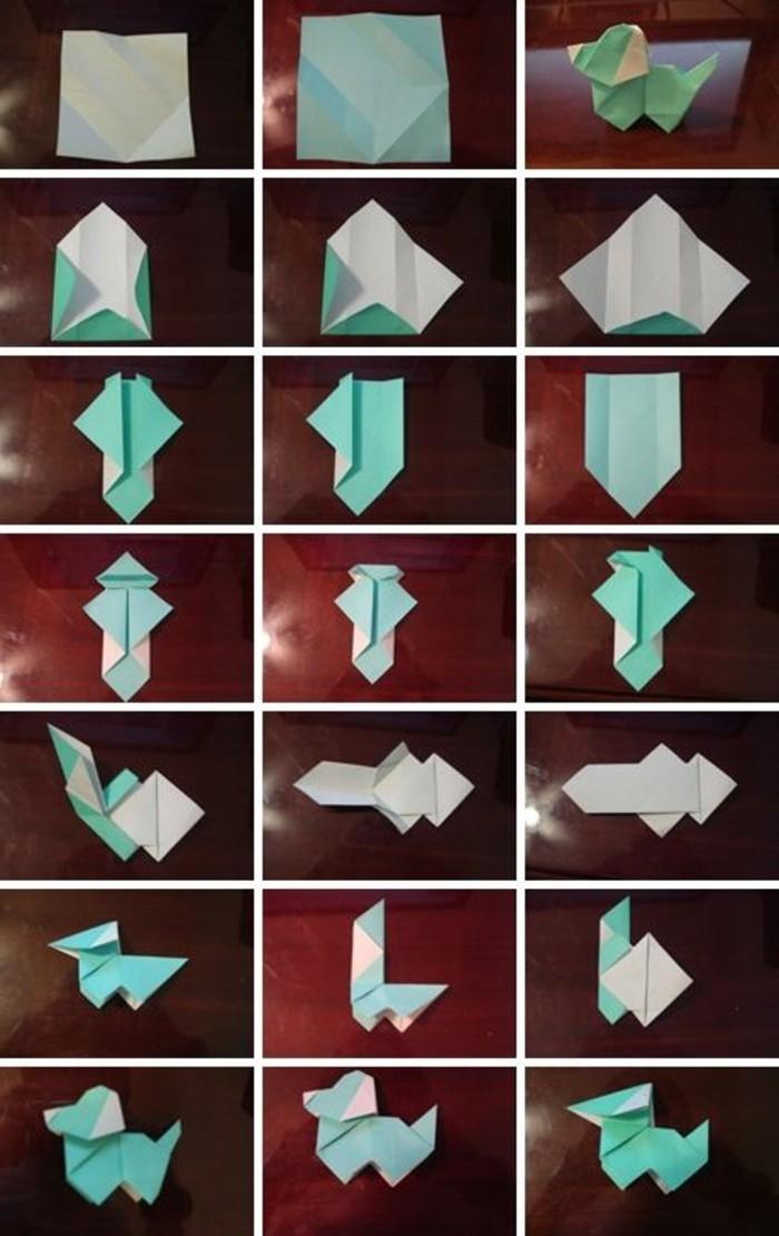 Mit Origami Papier Basteln Die Beste Origami Faltanleitung