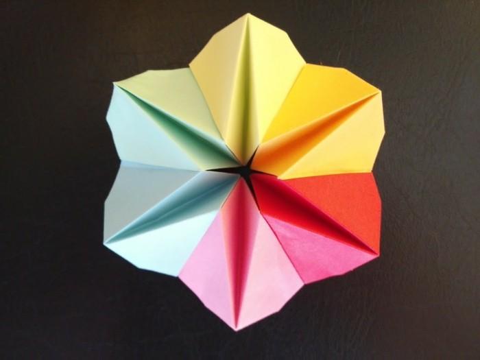papiersterne-mit-der-farbe-von-regenbogen