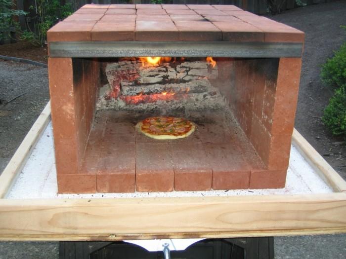 Pizzaofen selber bauen 69 ideen und bauanleitungen - Ofen fur garten ...