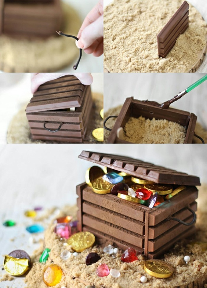Kleine schatztruhe basteln cool schatzkiste basteln hier finden sie kreative ideen with kleine - Schatzkiste basteln vorlage ...