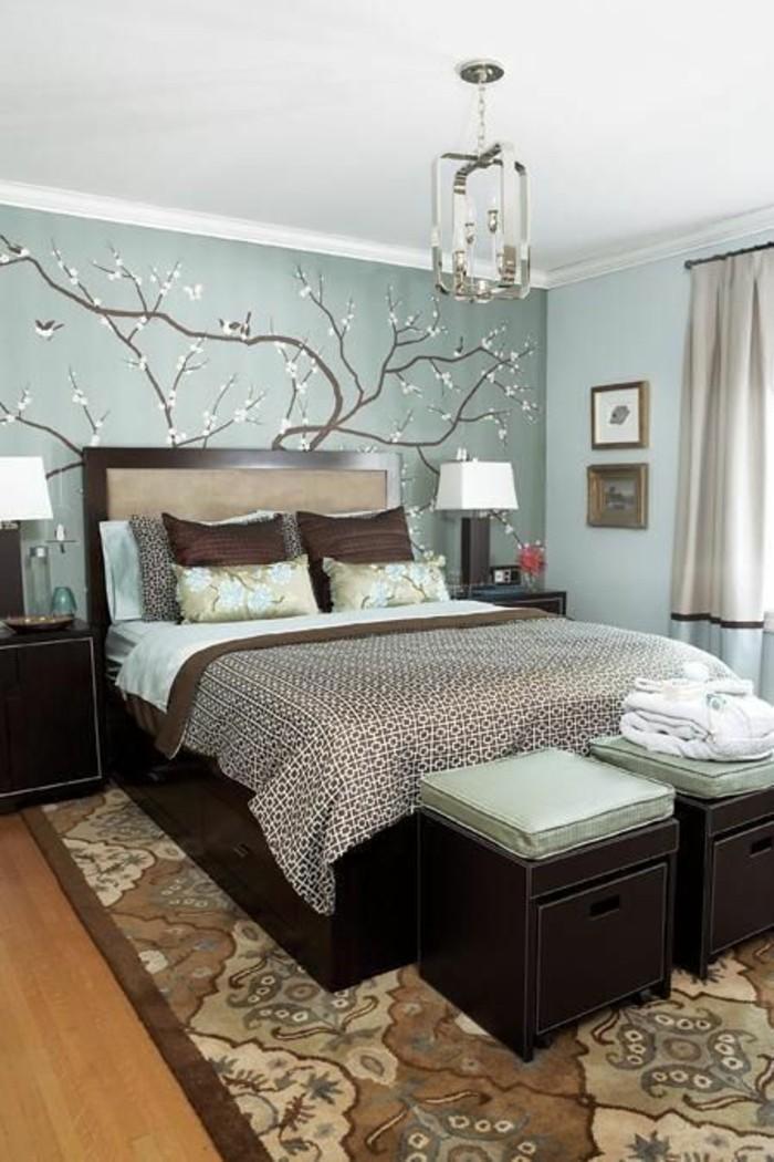 Deko Schlafzimmer Mint