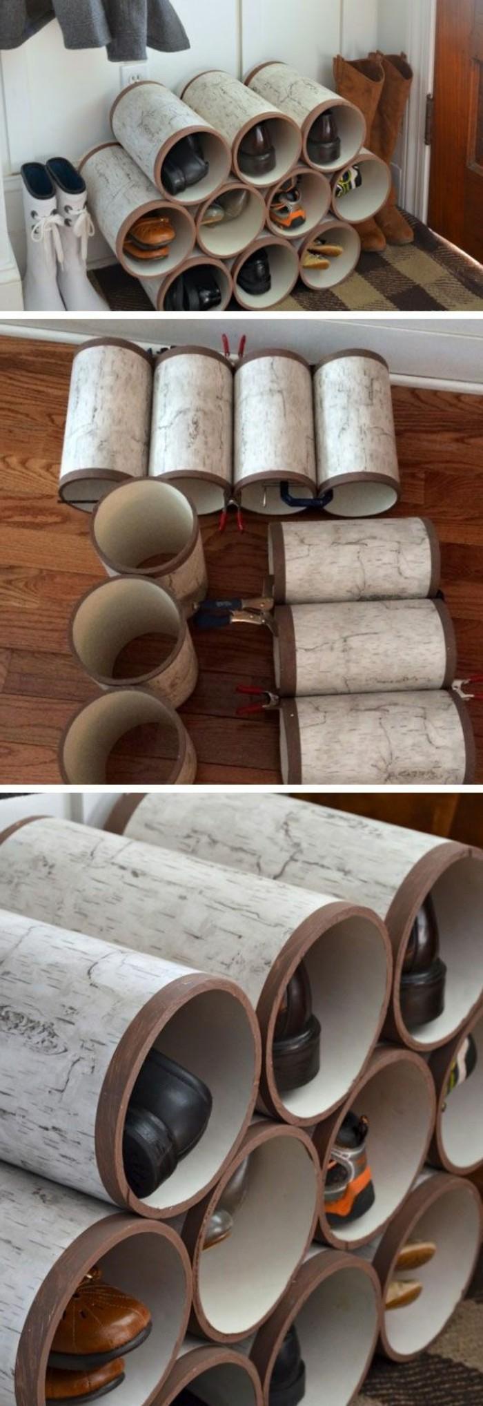Schuhschrank selber bauen - eine kreative Schuhaufbewahrung Idee ...