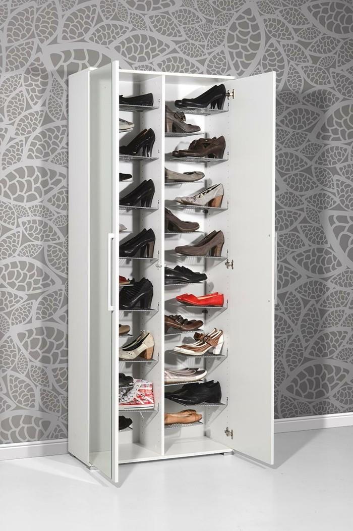Ideen Für Schuhaufbewahrung schuhschrank selber bauen eine kreative schuhaufbewahrung idee