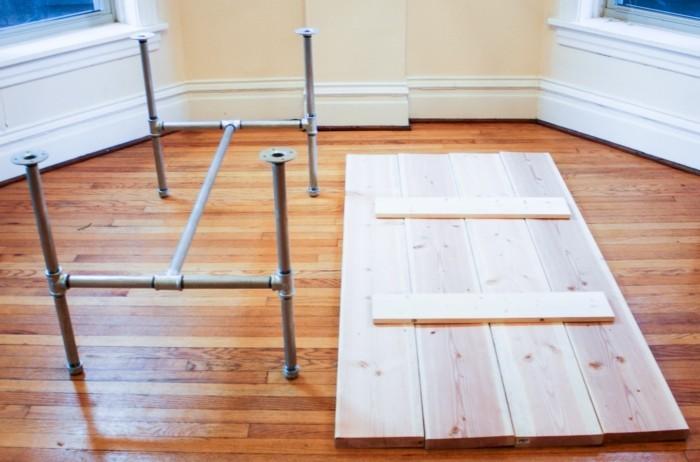 Tisch selber bauen holz garten design ideen um ihr for Design tisch selber bauen