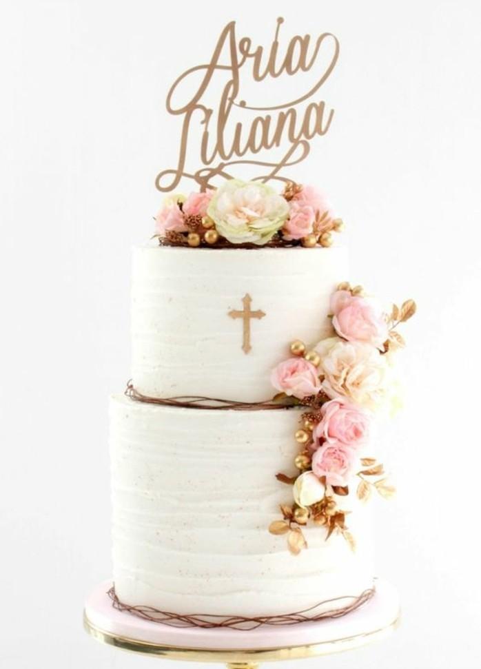 Torte beschriften taufe
