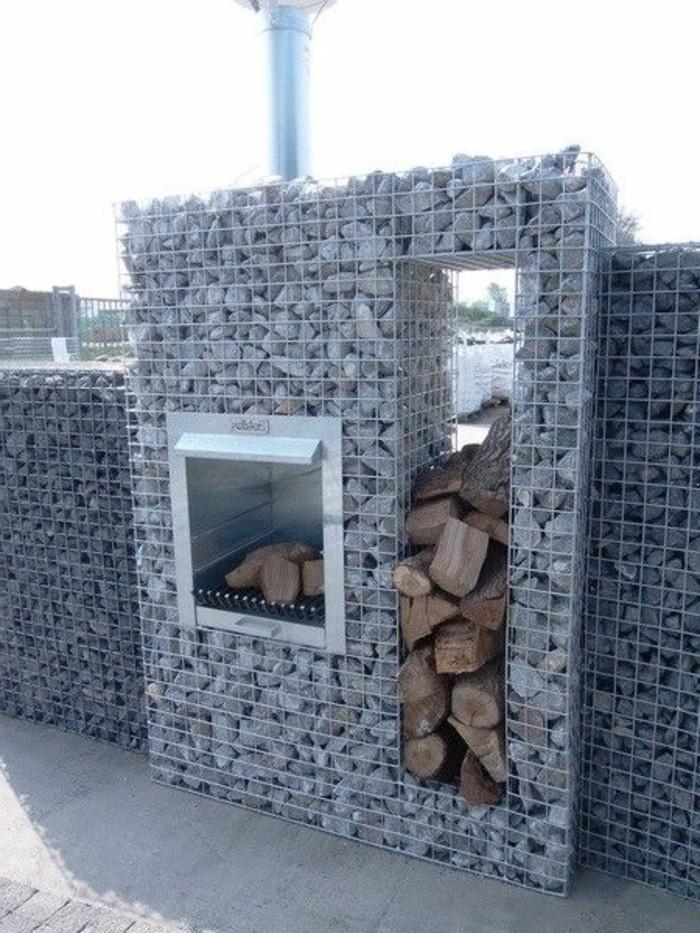 DIY Trockenmauer - Gabionen (Steinwand) selber bauen ohne Beton ...
