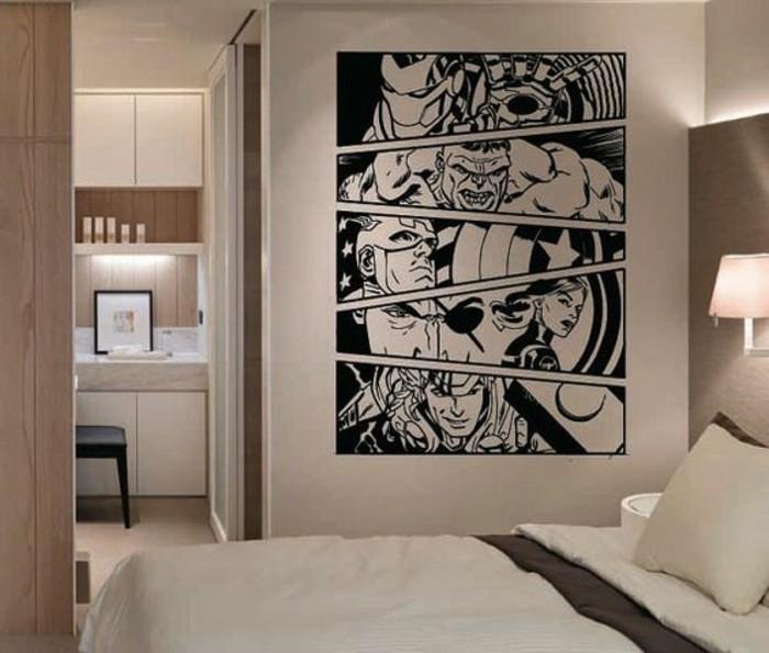 44 Beispiele Wie Schlafräume: 44 Wunderschöne Wandtattoos Für Das Schlafzimmer