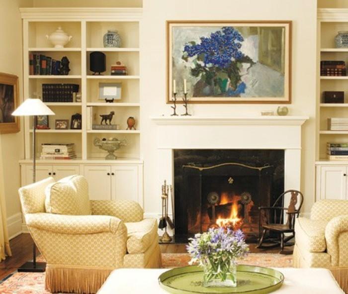 wanddekorationen-wohnzimmer-schicke-einrichtung-antike-mobel