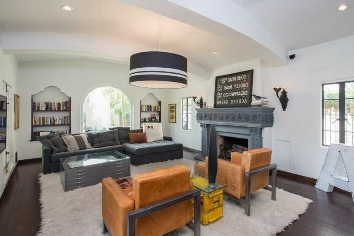 wanddeko wohnzimmer dekorative wandnischen. Black Bedroom Furniture Sets. Home Design Ideas