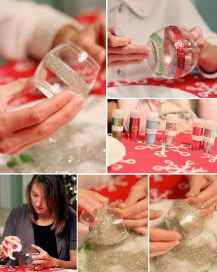 Weihnachtsdekoration selber machen ideen und vorschl ge - Glaser weihnachtlich dekorieren ...