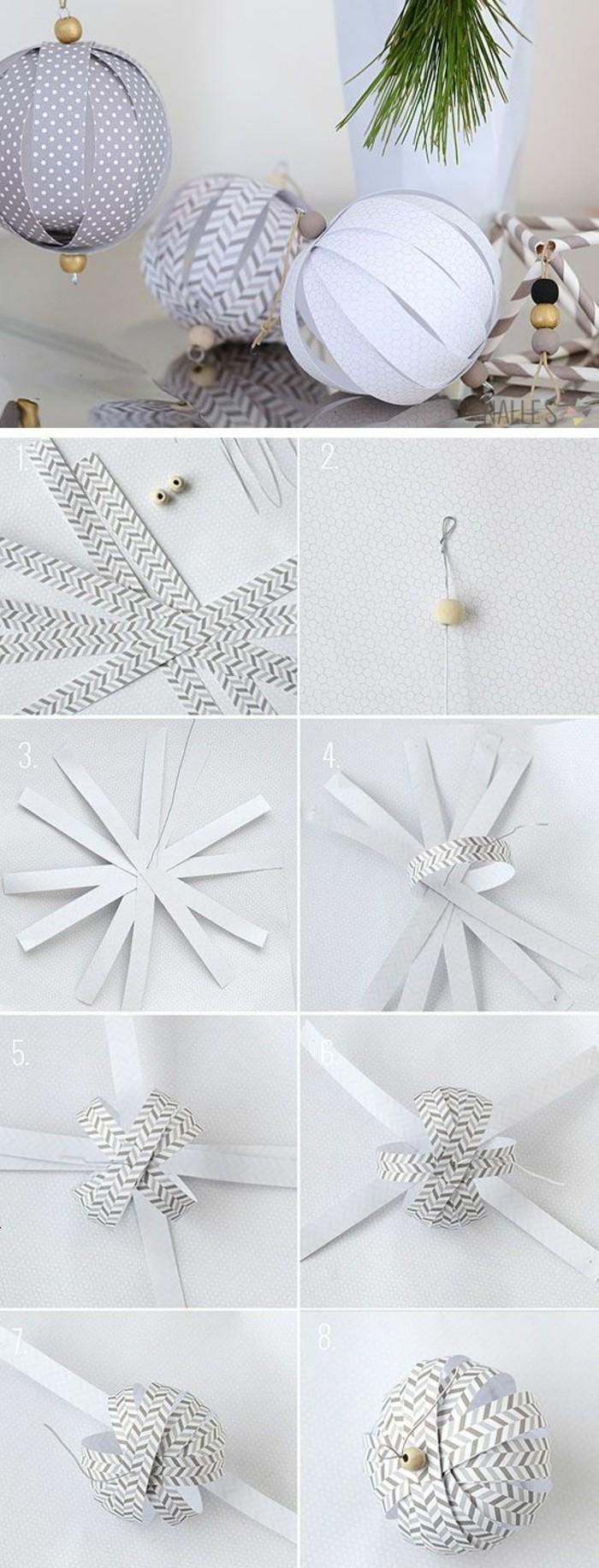 weihnachtendekoration-selber-machen-weihnachtsdeko-ideen-weihnachtsschmuck-aus-papier-basteln