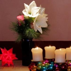 Papiersterne basteln - weihnachtliche Stimmung schaffen