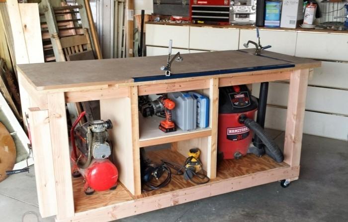 werkbank selber bauen mehr als 50 ideen und bauanleitungen. Black Bedroom Furniture Sets. Home Design Ideas