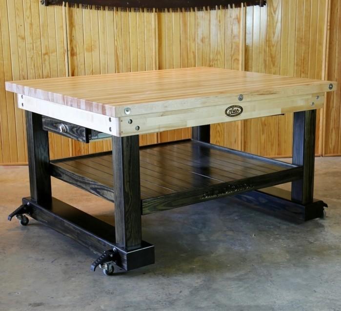 werkbank h henverstellbar selber bauen. Black Bedroom Furniture Sets. Home Design Ideas